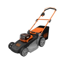 Black and Decker - 54V 25Ah 48cm DualVolt Autosense grasmaaier met 2 accus - CLM5448PC2