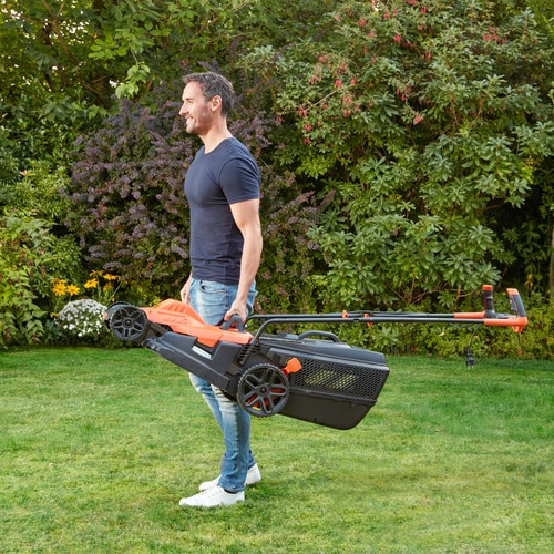 Black and Decker - 1800W 42cm Grasmaaier met Bikehandle handgreep - BEMW481BH