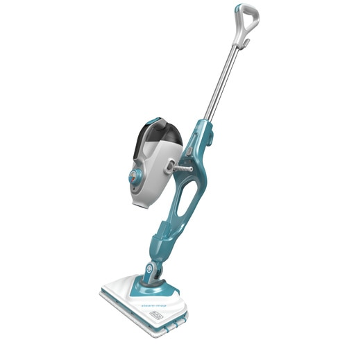 Black and Decker - 1600W Steammop met SteaMitt deltavoet en 11 accessoires - BHSM166DSM