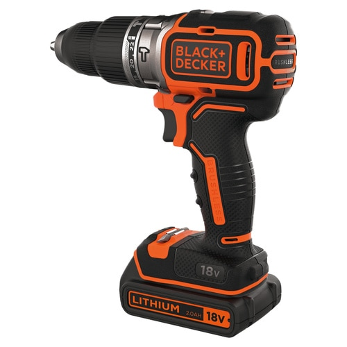 Black and Decker - 18V Brushless accuschroefklopboormachine - BL188K1B2