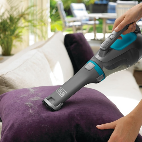 Black and Decker - 12V Kruimeldief met Cyclonic Action - DV1210N