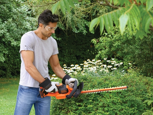 Black and Decker - 18V 20Ah 50cm Powercommand heggenschaar - GTC18502PC