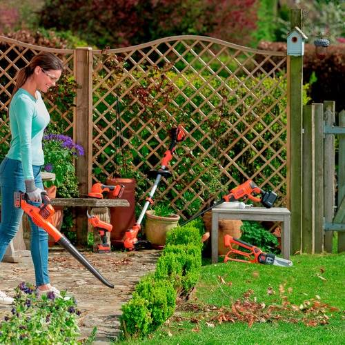 Black and Decker - 18V 20Ah LithiumIon Bladblazer met POWERCOMMAND - GWC1820PC