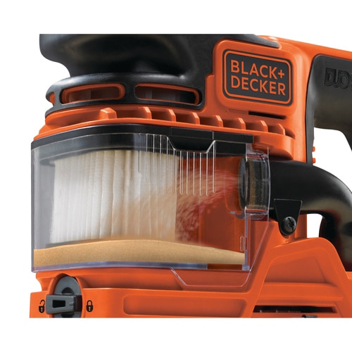 Black and Decker - 270W DUOSAND 13 vel schuurmachine met accessoires - KA330E