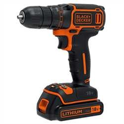 Black and Decker - 18V Lithium Ion accschroefboormachine - BDCDC18KB