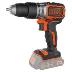 Black and Decker - 18V Brushless accuschroefklopboormachine geleverd zonder accus en lader - BL188N