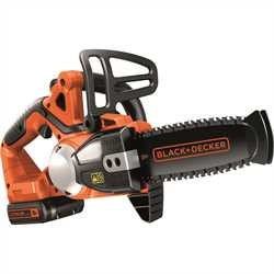 Black and Decker - 18V 20Ah LithiumIon kettingzaag  20cm - GKC1820L20