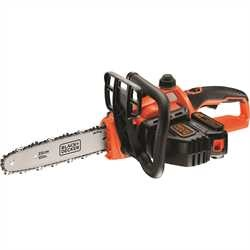 Black and Decker - 18V 20Ah LithiumIon Kettingzaag  25cm - GKC1825L20