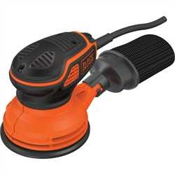 Black and Decker - 240W Excentrische schuurmachine met handpalmschakelaar - KA199