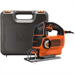Black And Decker - 550W AUTOSELECT Pendeldecoupeerzaag met zaagblad en koffer - KS801SEK