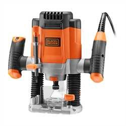 Black and Decker - 1200W bovenfrees met frezen in koffer - KW1200EKA