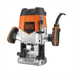 Black and Decker - 1200W bovenfrees met frezen in koffer - KW900EKA