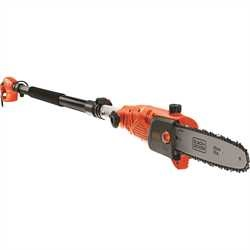 Black and Decker - 800W kettingzaag op telescopische steel  25cm - PS7525