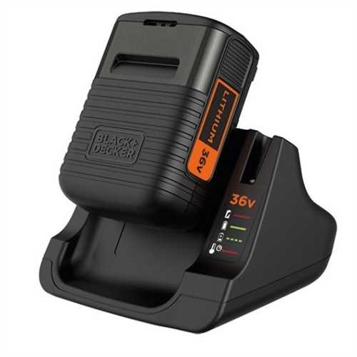 Black and Decker - Startset 36V 20Ah accu  2A Lader - BDC2A36
