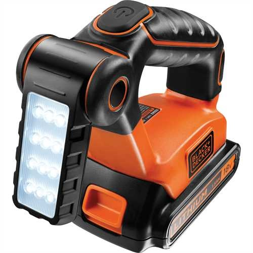 Black and Decker - 18V set van 4 machines  Schroefboormachine  Reciprozaag  Cirkelzaag  Lamp - BDC4KITB