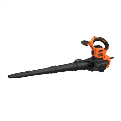 Black and Decker - 3000W 3IN1 bladblazer met ruggedragen opvangzak - BEBLV300