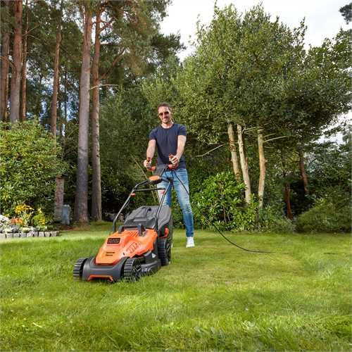 Black and Decker - 1600W 38cm Easysteer Grasmaaier - BEMW471ES