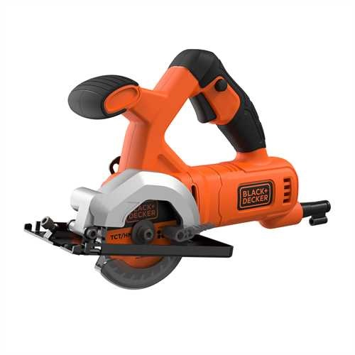 Black and Decker - 400W 85mm Minicirkelzaag in koffer - BES510K