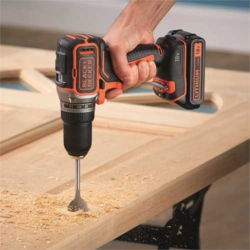 Black and Decker - 18V Brushless accuschroefboormachine zonder accus en lader - BL186N