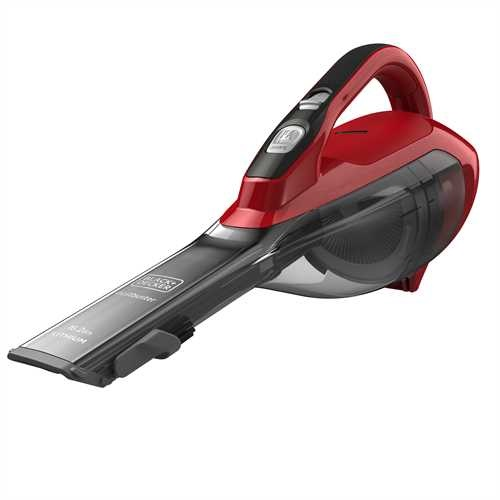 Black and Decker - 108V 15Ah Kruimeldief met accessoires - DVA315J