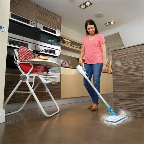 Black and Decker - 1300W 7IN1 Steammop met extensiekit - FSMH1300FX
