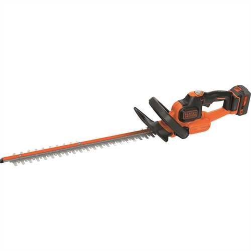 Black and Decker - 18V 40Ah 50cm Powercommand heggenschaar - GTC18504PC