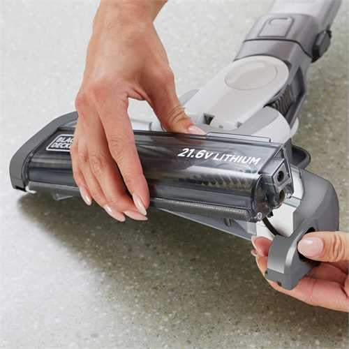 Black and Decker - 216V 20Ah ORA steelstofzuiger met extensiekit - HVFE2150L
